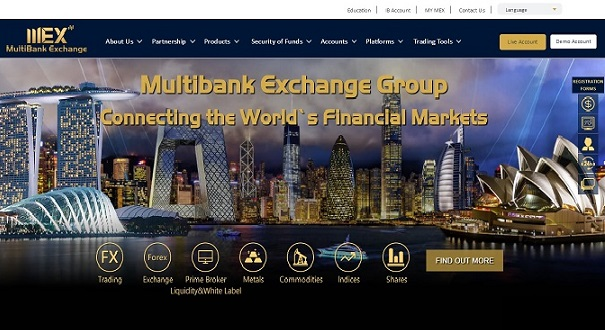 MultiBank Exchange Group developed by wewebit